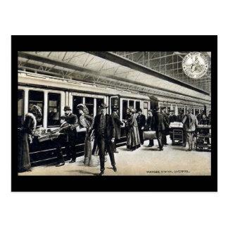 Postal vieja - estación de la orilla, Liverpool