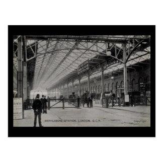 Postal vieja - estación de Marylebone, Londres