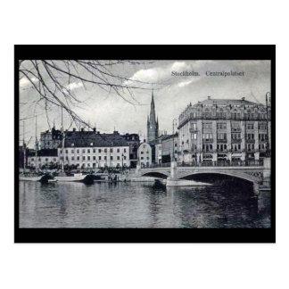Postal vieja - Estocolmo, Suecia