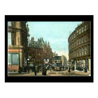 Postal vieja, Glasgow, cruz de Charing