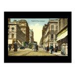Postal vieja, Glasgow, Renfield Street, 1918