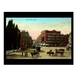 Postal vieja - Haverhill Massachusetts