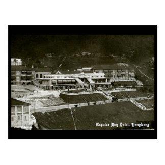 Postal vieja - Hong Kong, hotel de la bahía de la