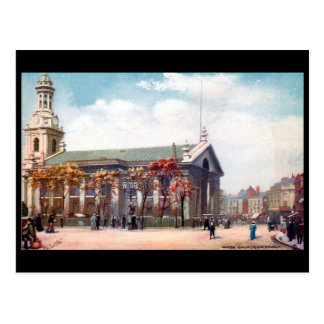 Postal vieja - iglesia parroquial de Londres,