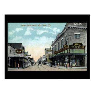 Postal vieja - Key West, la Florida