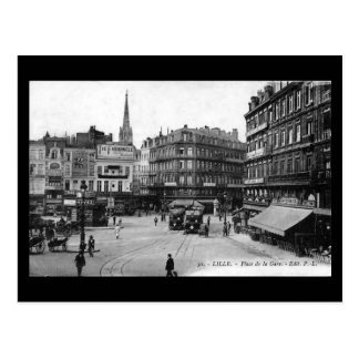Postal vieja - Lille, Place de la Gare