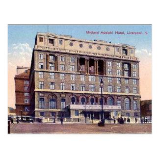 Postal vieja - Liverpool
