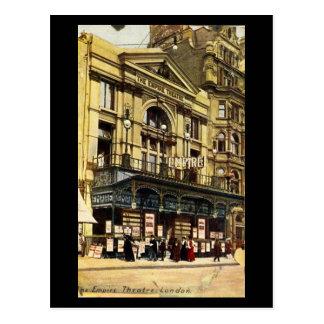 Postal vieja - Londres, imperio, cuadrado de Leice