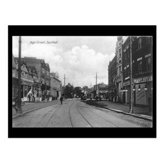 Postal vieja, Londres, Southall, calle principal