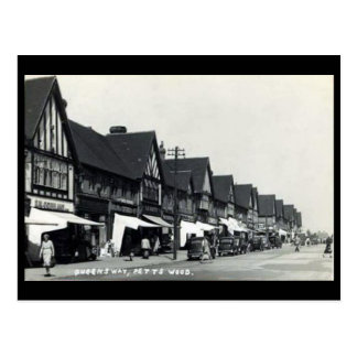 Postal vieja - madera de Petts, Bromley, Londres