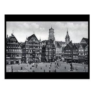 Postal vieja - Marktplatz, Stuttgart