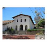Postal: Vieja misión, San Luis Obispo