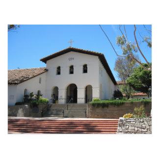 Postal Vieja misión San Luis Obispo