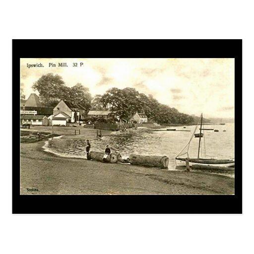 Postal vieja - molino del Pin, Ipswich, Suffolk
