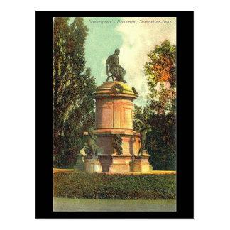 Postal vieja, monumento de Gower, Stratford-sobre-