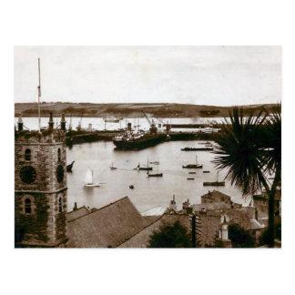 Postal vieja - muelles, Falmouth, Cornualles