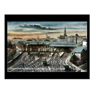 Postal vieja - Newcastle-en-Tyne, cruce