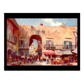 Postal vieja - Niza, Francia