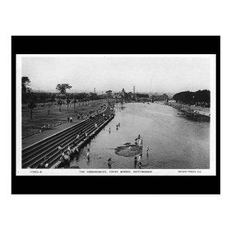 Postal vieja - Nottingham, puente de Trent