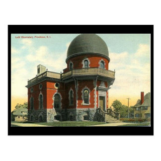Postal vieja - observatorio de Ladd, Providence, R