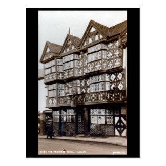 Postal vieja - plumas hotel, Ludlow, Shropshire