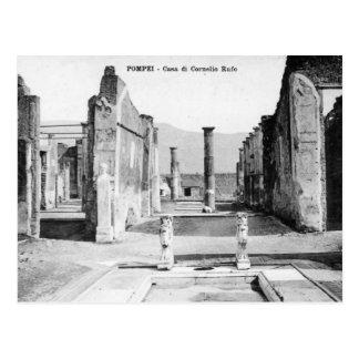 Postal vieja - Pompeya, Casa di Cornelio Rufo