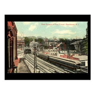 Postal vieja - Providence RI, túnel ferroviario
