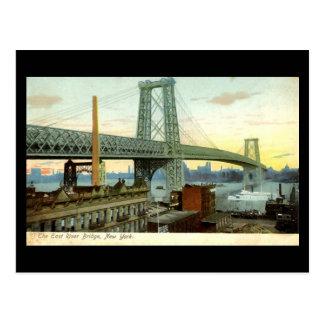 Postal vieja, puente de New York City, Williamsbur