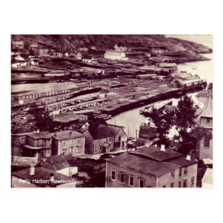 Postal vieja - puerto pequeño, Terranova