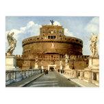 Postal vieja, Roma, Castel Sant'Angelo