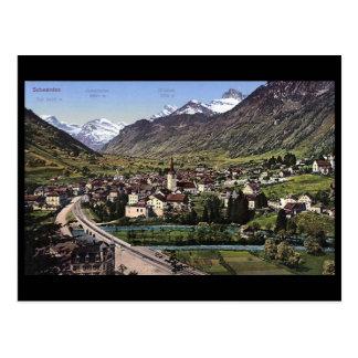 Postal vieja - Schwanden, Glarus, Suiza