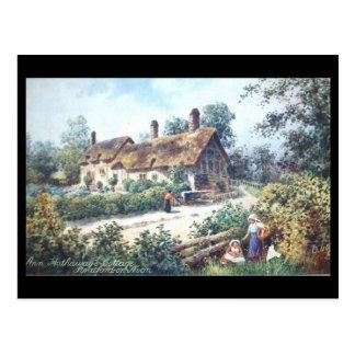 Postal vieja, Shottery, cabaña de Anne Hathaway