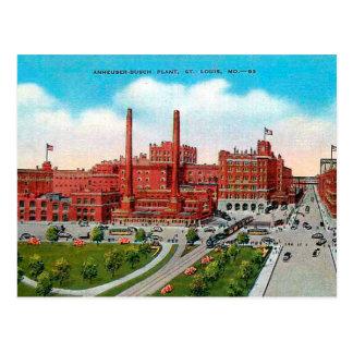 Postal vieja - St. Louis, Missouri, los E.E.U.U.