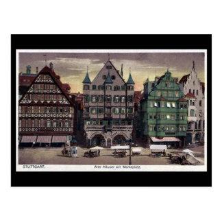 Postal vieja - Stuttgart, Alemania