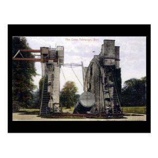 Postal vieja - telescopio birr Co Offaly