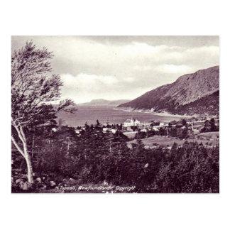 Postal vieja - Terranova, Topsail en 1925