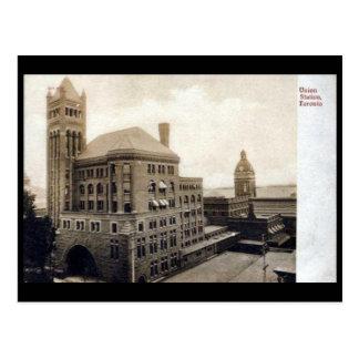 Postal vieja - Toronto, estación de la unión