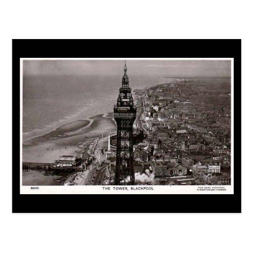 Postal vieja, torre de Blackpool