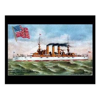 Postal vieja - USS Georgia