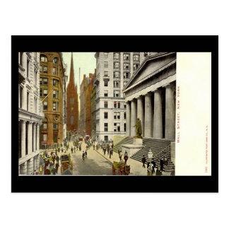 Postal vieja, Wall Street, New York City
