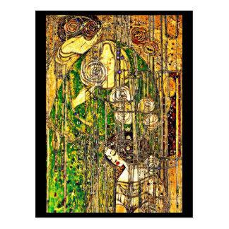 Postal-Vintage Arte-Charles Rennie Mackintosh 16