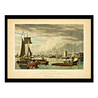 Postal-Vintage Boston Art-7 Tarjetas Postales