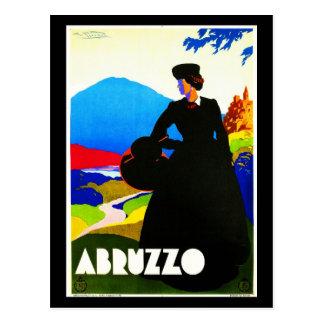 Postal-Vintage Viaje-Abruzos 2 Postal