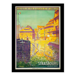 Postal-Vintage Viaje-Estrasburgo Tarjetas Postales
