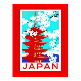 Postal-Vintage Viaje-Japón 2