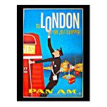 Postal-Vintage Viaje-Londres