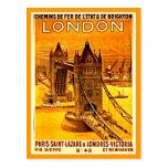 Postal-Vintage Viaje-Londres 2