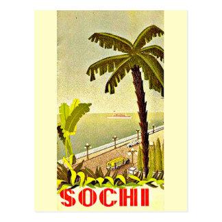 Postal-Vintage Viaje-Sochi Tarjeta Postal