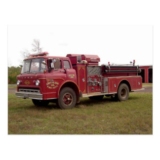 Postal voluntaria #1 del cuerpo de bomberos de Smi