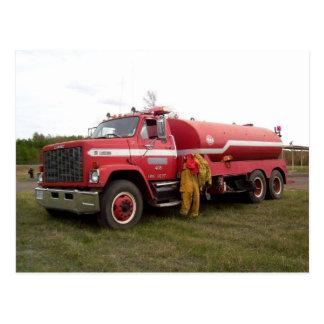 Postal voluntaria #3 del cuerpo de bomberos de Smi